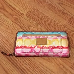 Coach Colorful Wallet